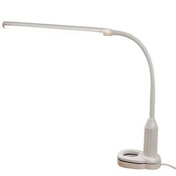 Светодиодный светильник с зажимом для книг 24 светодиодный домашний декор Гибкая лампа для книг светильник для чтения USB гусиная шея для уче...