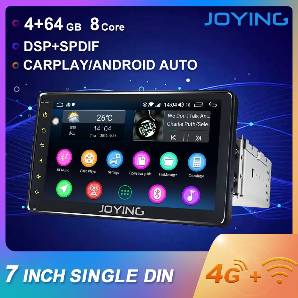 JOYING 7 HD 1 din car radio playe Android 8.1universal Octa Core built in DSP&4G module SWC/Fast Boot/Split Screen Autoradio BT image
