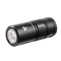 Trustfire-Mini linterna LED recargable Mini2, llavero USB, luz de bolsillo de 250 lúmenes, IPX8 EDC, linterna portátil