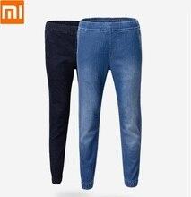 Youpin Cottonsmith cztery pory roku imitacja dziania sportowe i rekreacyjne spodnie jeansowe wygodne luźne spodnie do joggingu na świeżym powietrzu