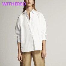 Camisa solta de moda 2020 das mulheres dos topos e blusa das mulheres do tamanho grande