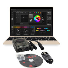DVC4 GZM Virtual Controller DMX USB Lighting Interface Daslight Software For Disco DJ Stage Light USB Lighting Interface
