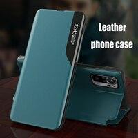 Custodia per cavalletto magnetico in pelle Flip per Xiaomi Poco F3 X3 NFC Mi 11 10 10T Pro Lite Redmi Note 10S 5G custodia per telefono Coque Fundas