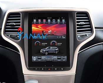 Tesla style Car Audio player FOR-Jeep Grand Cherokee 2014-2016 car GPS navigation car DVD player vertical Screen car stereo 7inch car dvd for chery qq 2014 car dvd gps player car stereo navigation radio audio bluetooth