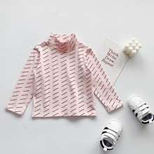 TBaby Boy girl Tops Clothing Autumn Children Baby Girl Long Sleeve O-Neck Shirts Kids Letter Print Tops Shirts Casual Blouse стоимость