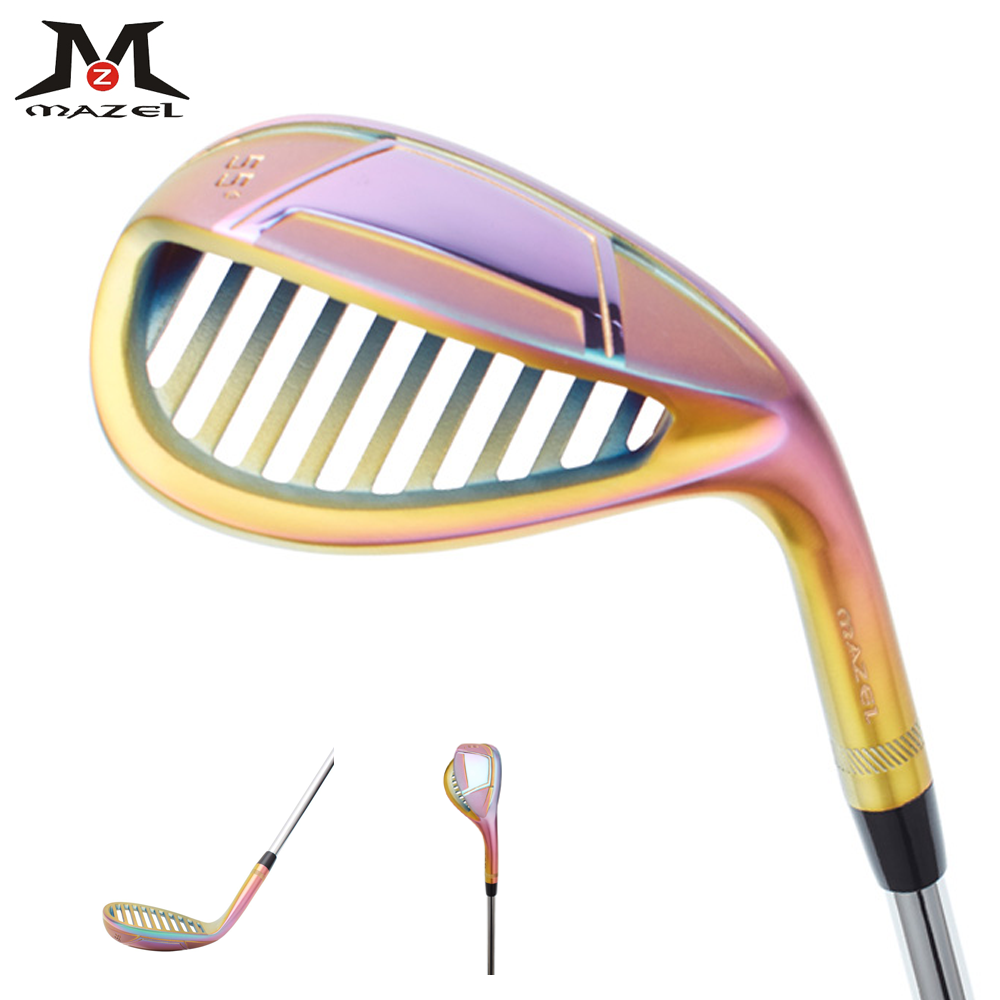 Mazel Golf Clubs Mens Golf Clubs Hollow Out Design Colorful Golf Sand Wedge 55 Degree
