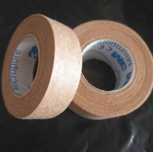 1pc 1.25cm*9.1m 3M Scar Protection Double Fold  Skin Color Adhesive Tape Nasogastric Tube Gastric Duct Invisible Adhesive Tape