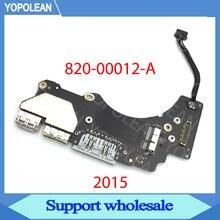 "Original A1502 IO Board USB Power Board for MacBook Pro Retina 13.3 ""A1502 USB SD HDMI Power Board 2015 Year 820 00012 A"