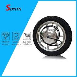 SDYITN мотоцикл комплект для переоборудования электрического велосипеда BLDC мотор дисковый тормоз на электрический двигатель колесо для вело...