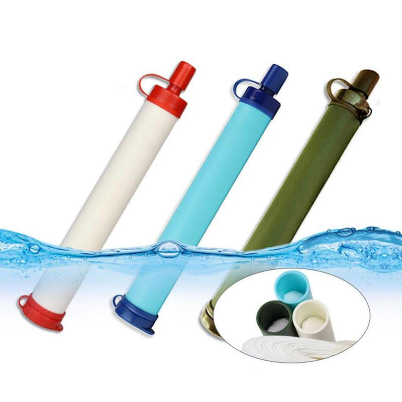 Outdoor Portable Water Purification Tool Camping And Hiking Emergency Water Purifier Ultrafiltration Water Purification Straw