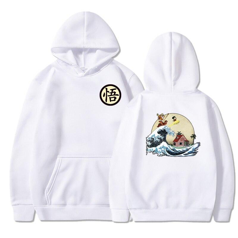 WIPU Multiple Styles Dragon Ball Hoodie Sweatshirt Men Print Turtle Goku Poleron Hombre Streetwear Sudadera Dragon Ball Pullover