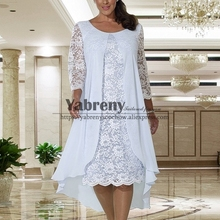 Comfortable Plus size Mother of the bride dress