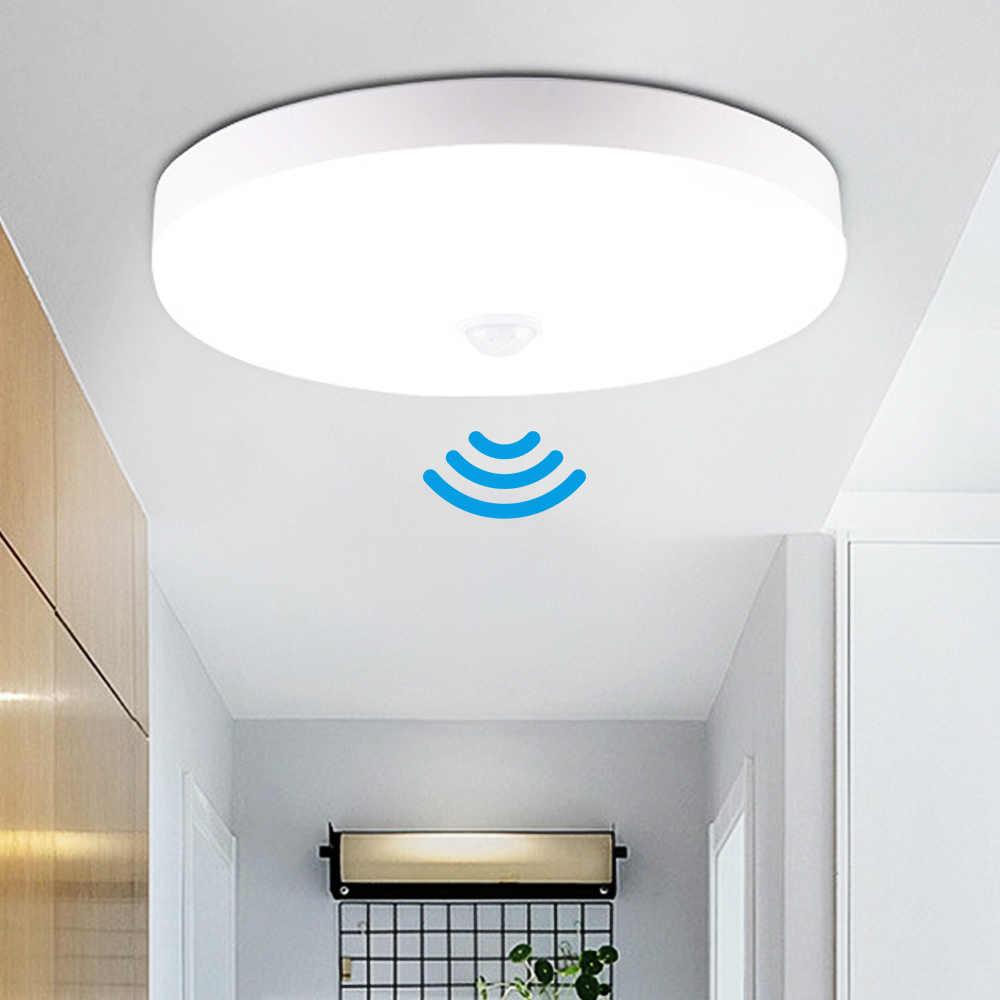 Luz de teto conduzida 220 v 12 w 18 20 50 w lâmpada de teto moderna luzes led 110 v montagem em superfície dispositivo elétrico de iluminação para sala de estar