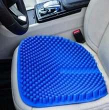 Модная 3d дышащая Силикагель Подушка для сиденья автомобиля