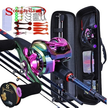 Fishing Rod Reel And Tackle Combo Package