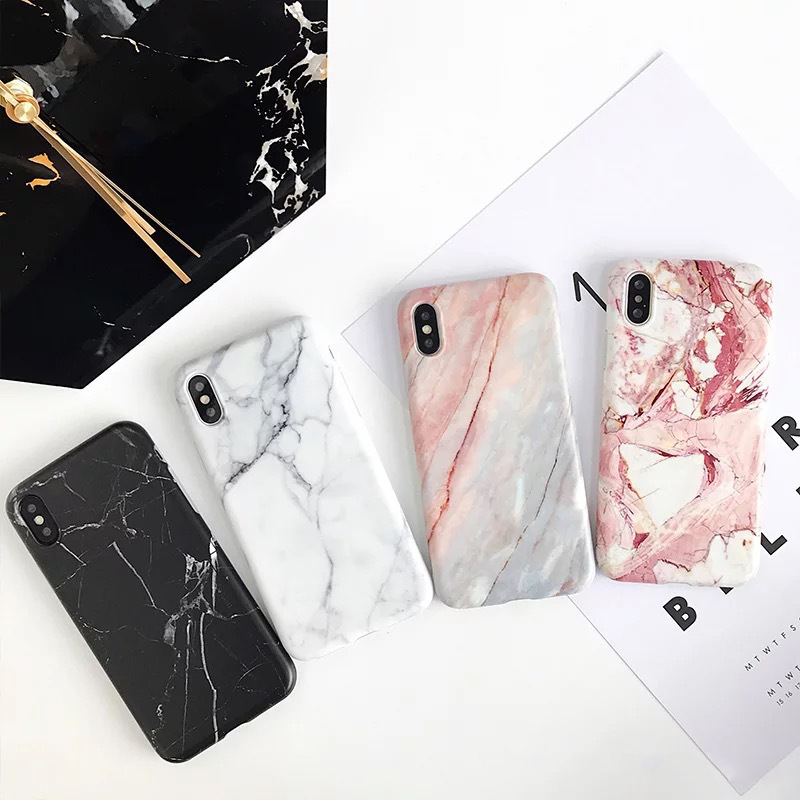 Luxury Imd Marble Stone Gel Case for Apple iPhone 7 11 Pro 6s 6 8 Plus X 10 XR XS Max Cases Black White Soft Squishy phone Case 1