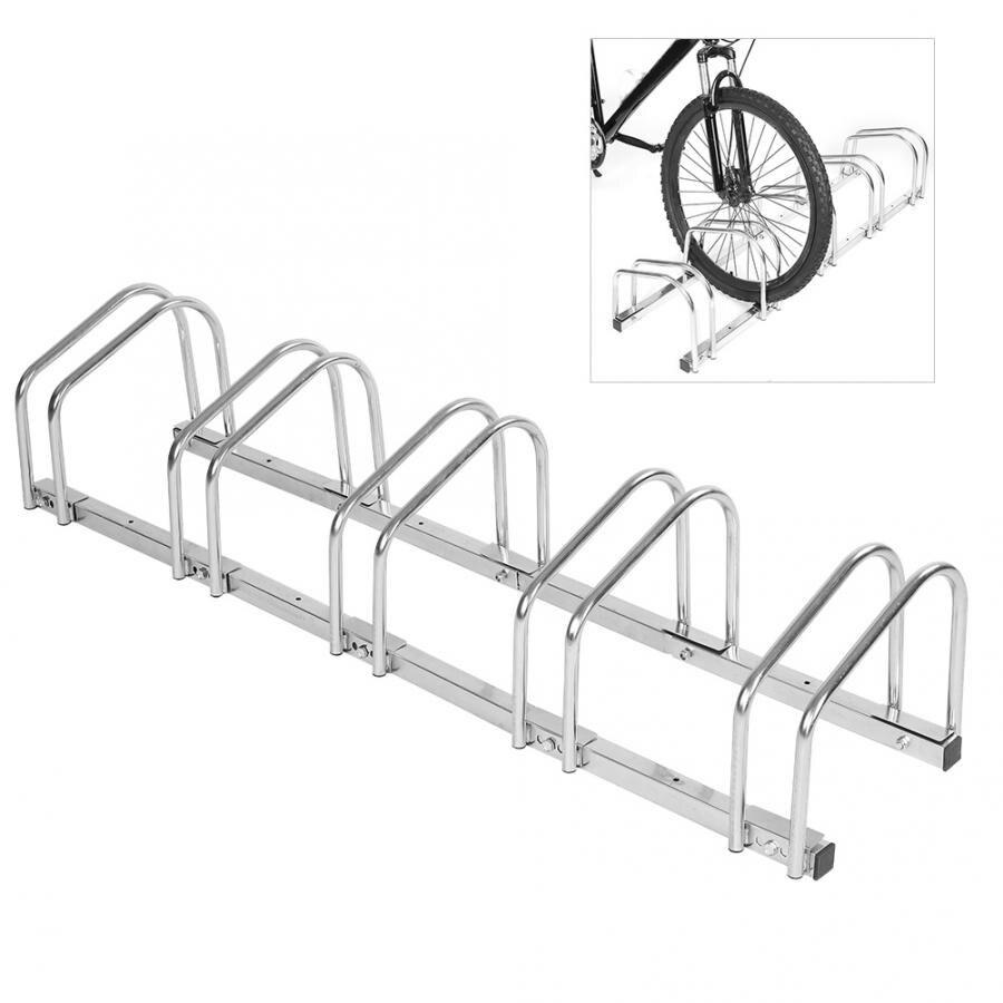 Bike Parking Rack Steel Bike Floor Stand Rack Deatchable Mountain