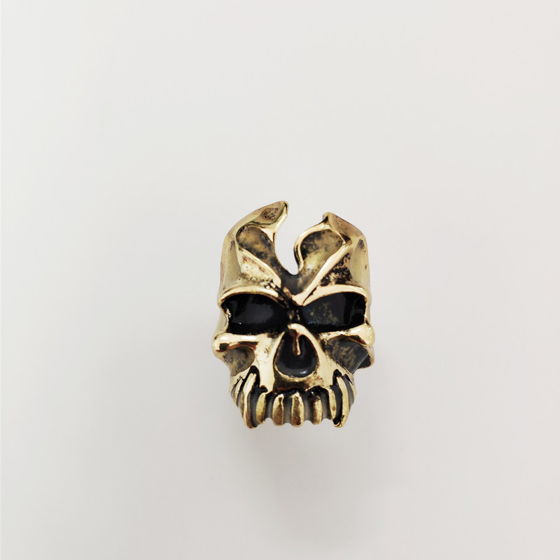 Luminous infinite glow ring skeleton skull open Size rings New steampunk world of warcraft men 39 s women 39 s ring Metal Jewelry in Rings from Jewelry amp Accessories