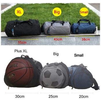 Men Gym Bags For Training Bag Tas Fitness Travel Sac De Sport Outdoor Sports Swim Women Dry Wet Gymtas Yoga Shoes Bag XA103WA 2
