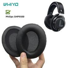 Whiyo 1 пара амбушюр замена подушек для philips shp9500 shp
