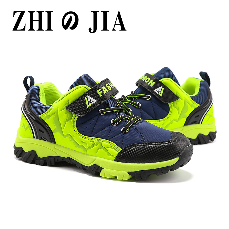 2020 Spring Autumn Boys Big Children New Kids Shoes Outdoor Sports Shoes Casual Non-slip Comfortable Hiking Shoes Kids Sneakers