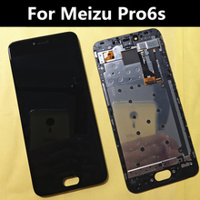 For Meizu Pro6s PRO 6s M570Q-S  LCD Display+Touch Screen or with Frame Digitizer Assembly Replacement Accessories lcd display screen touch panel digitizer with frame for 5 2 meizu pro 6 pro6 pro 6s pro6s white black color free shipping