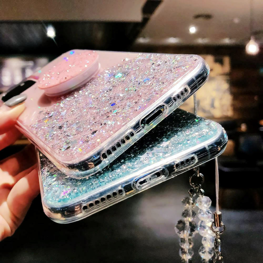 Unique Glitter Case for iPhone SE (2020) 48