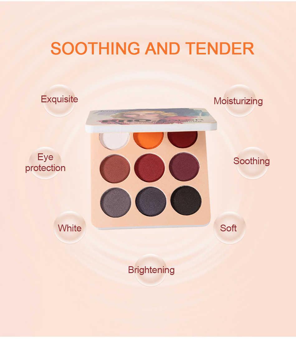 Matte Eyeshadow Tavolozze Nude Minerali Professionale Ombretto della Polvere del Pigmento Cosmetico Impermeabile Opaca di Trucco Ombretto Pallete