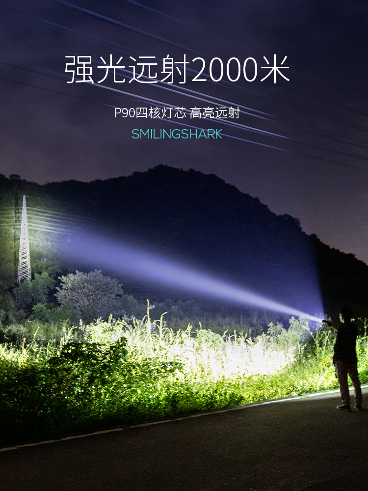 lanterna portatil ao ar livre seguranca mini 01