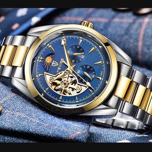Image 3 - TEVISE 2019 Relógio Automático Tourbillon Relógios Mecânicos Homens Assistir Homens de Negócios relógio de Pulso Esqueleto Masculino Relógio montre homme 2019