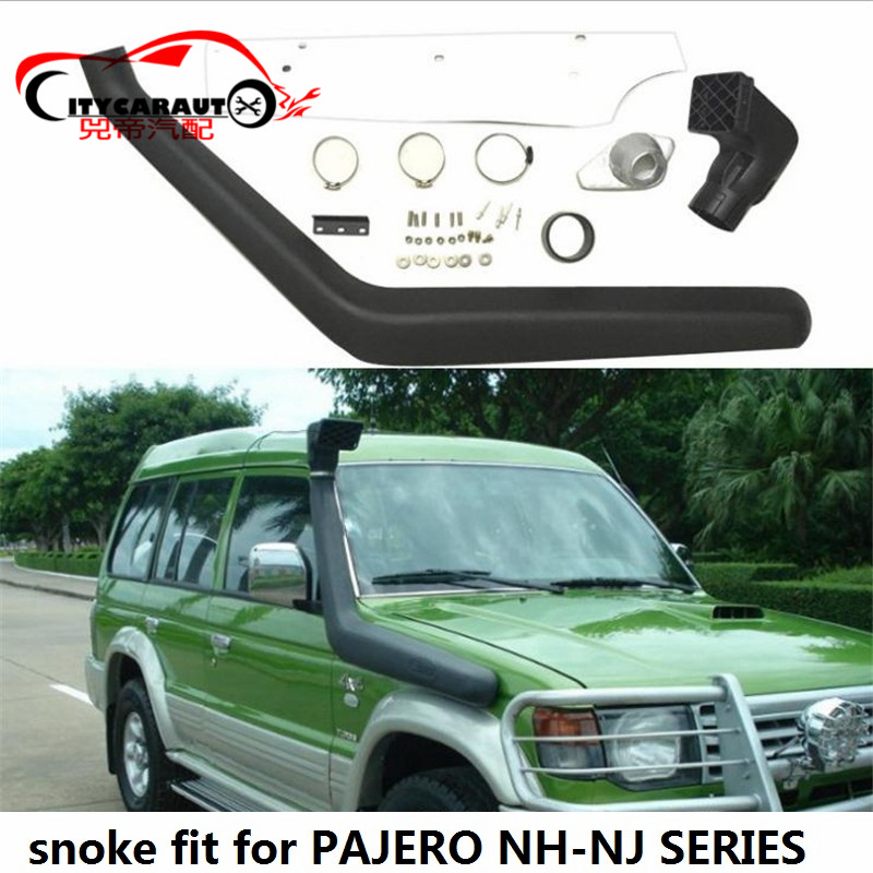 CITYCARAUTO  AUTO PIPE SNORKEL KIT Fit FOR MITSUBISHI PAJERO V31 NH-NJ SERIES Air Intake LLDPE MANIFOLD Snorkel Kit Set SMV31