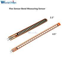 Flex Sensor 2.2 inch Bend Flex Sensor for Robotic hand Electronic gloves Flex2.2 flex4.5 Flex Sensor 4.5