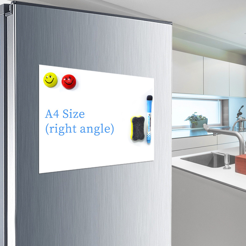 Magnet Whiteboard A4 Soft Magnetic Board, Dry Erase Drawing And Recording Board For Fridge Refrigerator