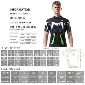 Image 5 - X TIGER Radfahren Jersey Mann Mountainbike Kleidung Quick Dry Racing MTB Fahrrad Kleidung Uniform Breathale Radfahren Kleidung Tragen
