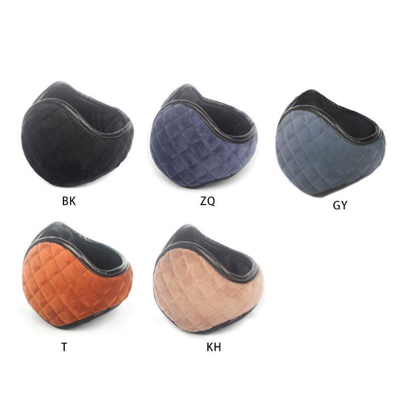 Unisex Plush Lined Foldable Sport Winter Warm Earmuffs Waterproof Earwarmer