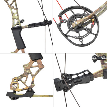 KAIMEI 270 Archery 40-60lbs Compound Bow 310FPS Arrow Steel Ball Dual Purpose Bow 80% Labor Saving Ratio For Hunting Shooting 3