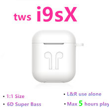 I9S X Tws Wireless Earphone 6D Super Bass I9S Tws Mini Bluetooth 5.0 Earphone PK Tws I9S I10 I12 I30 i60 Tws(China)