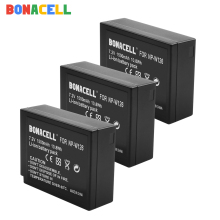 Bonacell For Fujifilm NP-W126 NP-W126S Battery for X-M1 X-A1 X-T1 X-E1 X-Pro2 NP W126