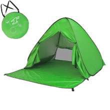 Ultralight  Camping Tent Sunshelter Outdoor Tools Automatic Folding Tents 2 Persons Instant Up Beach Rest Anti-UV Awning