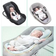 Baby Pillow Newborn Stereotype Pillow Positioning Latex Pillow Cushion Prevent FlatHead Baby Nursing Pillow for Babies' Sleeping