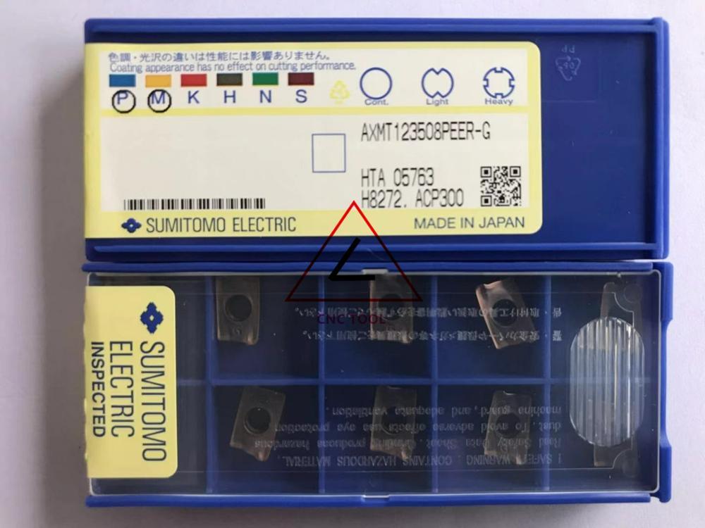 10 Sumitomo CCMT 060204N-SU AC700G