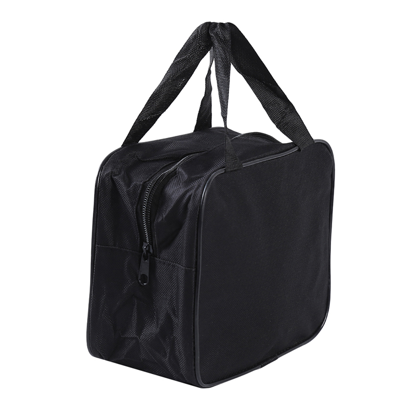 Black Organizer Bag Storage Handbag Nylon For Car Air Compressor Pump Automotive Tools Case