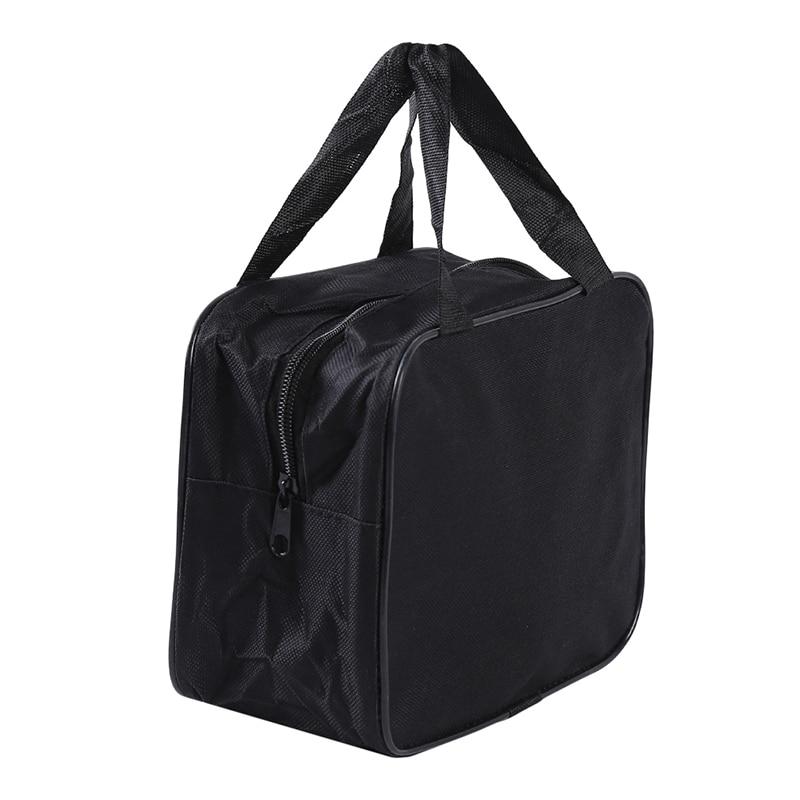 Black Organizer Bag Storage Handbag Nylon For Car Air Compressor Pump Automotive Tools Case