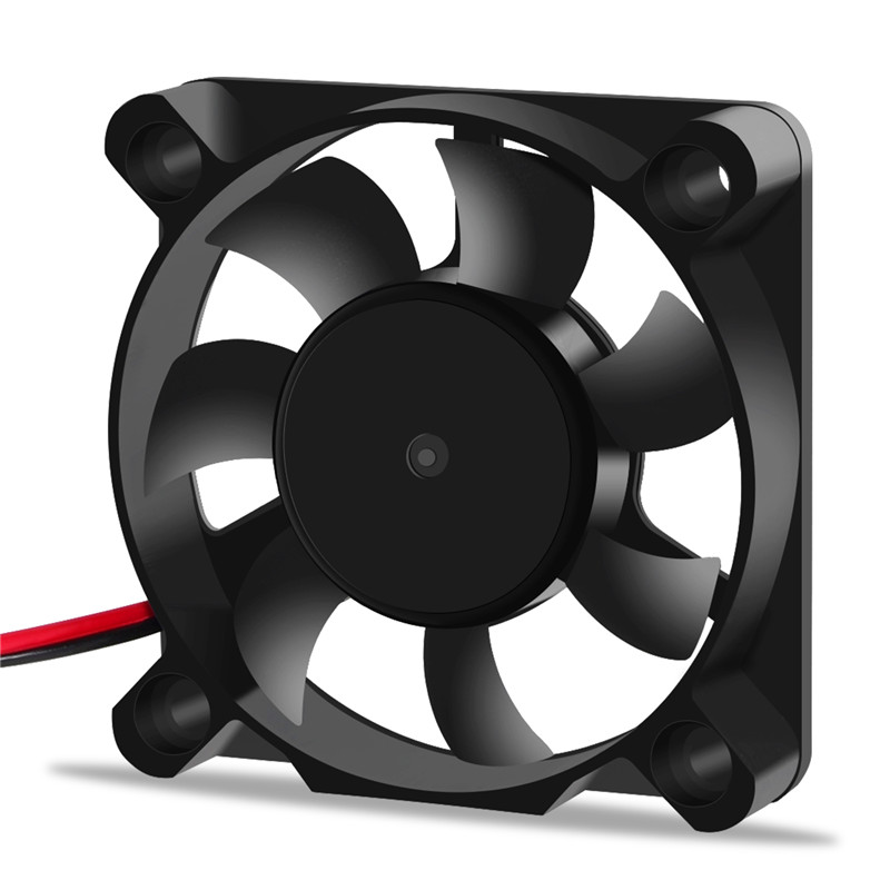 2pin Brushless Cooling Fan in Sleeve-Bearing Design as 3D Printers Parts with 7-Blades 3