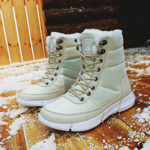 Image 4 - Women Boots 2019 Winter Shoes Woman Snow Boots With Plush Inside Shoes winter Waterproof Plus Winter Boots Rubber Female Booties