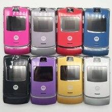 Хорошее качество Motorola Razr V3 мобильный телефон один год гарантии Восстановленный
