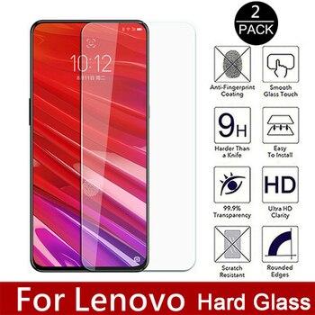 Перейти на Алиэкспресс и купить 2 шт. Защитное стекло для Vibe K5 Note Plus X2 закаленное стекло для Lenovo Z5 Z6 Pro Youth Z5S 2.5D Movie Knockproof Hard