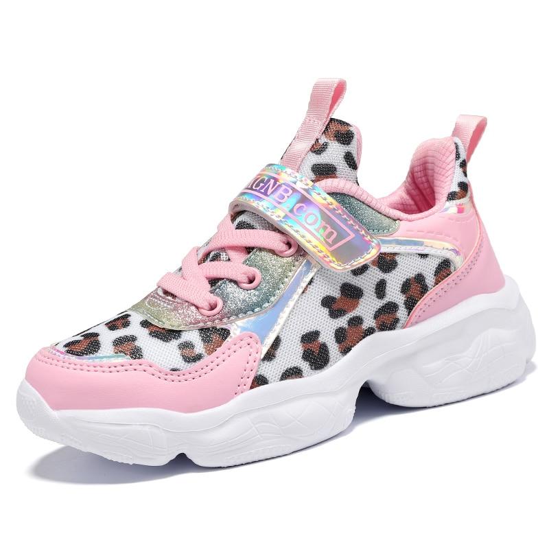 ULKNN Girls Sneakers For Kids Shoes Children Casual Shoes Boys Sneakers Girls Sport Trainers Running Footwear School Fashion