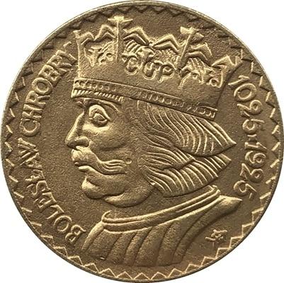 24-K Позолоченные 1925 10 Zlotych Польша копия монет