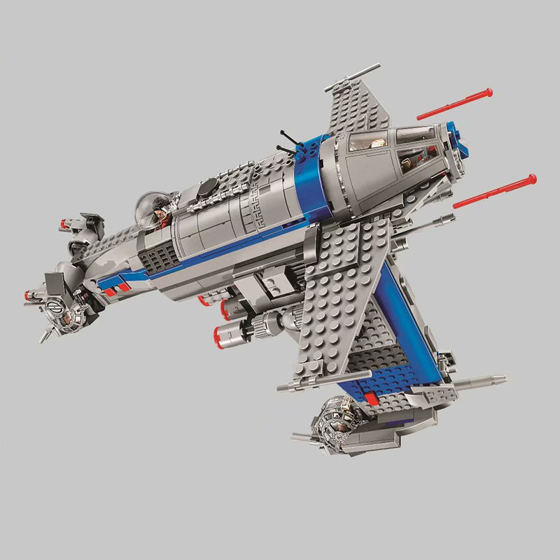 Sermoido New Star Series The Resistance Bomber Model Building Blocks Set Compatible <font><b>75188</b></font> Classic Education Toys For Children image
